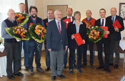 SPD ehrt Parteijubilare