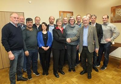 Mitgliederversammlung des Ortsvereins Nienburg